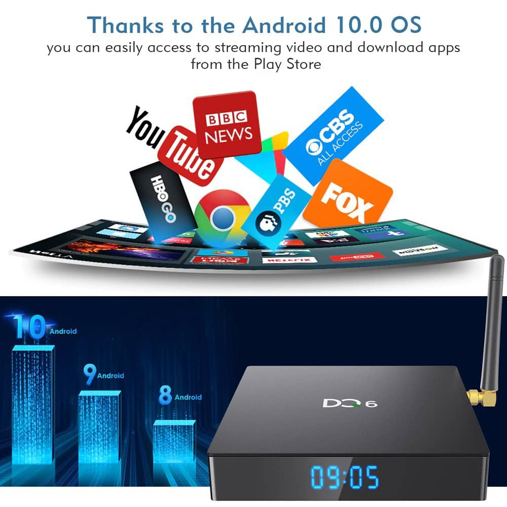Freebox Delta DQ6 Android box
